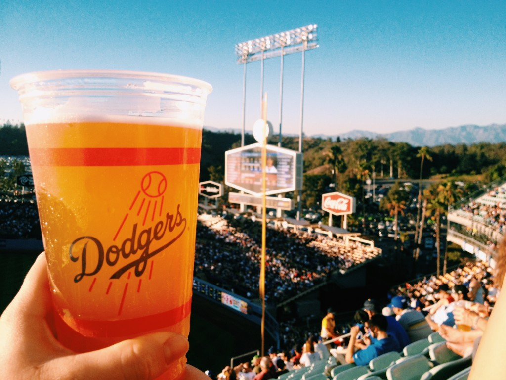 Beer Dodgers Stadium
