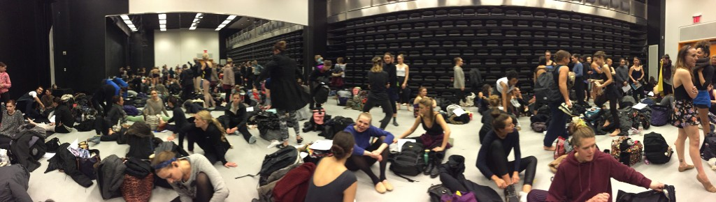 dancer audition NYC